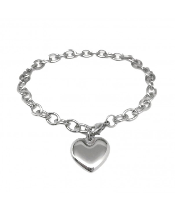 Womens Stainless Steel Bracelet Adjustable