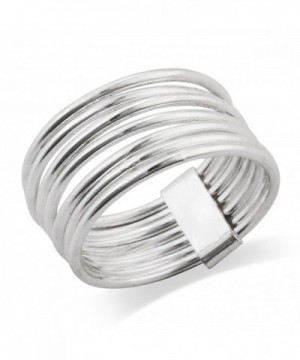 Sterling Silver Band Stacked Ring