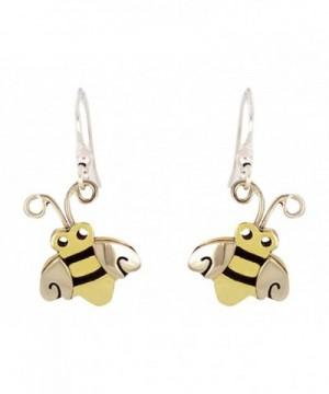 Honey Bumble Dangle Earrings Metals