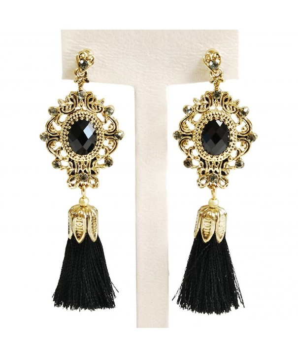 Tassel Bohemian Vintage Statement Earrings