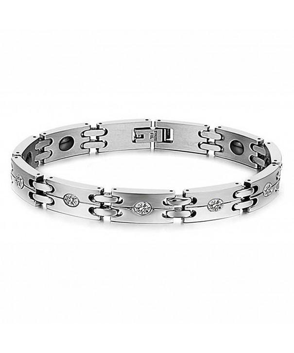 Titanium Zirconia Magnetic Bracelet European