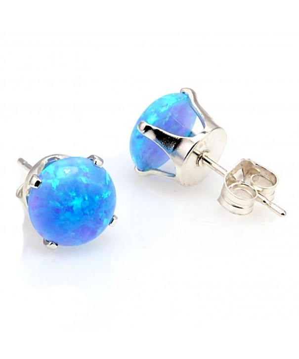 Trustmark Sterling Silver Created Earrings