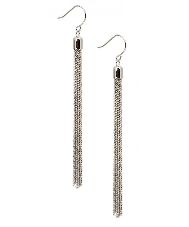 Tassel Earrings Silver SPUNKYsoul Collection