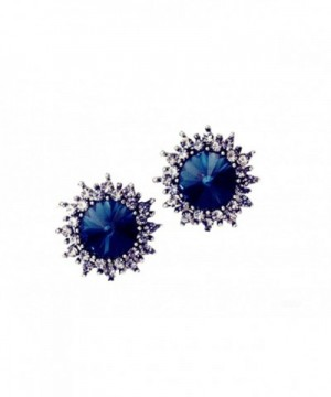 MMJULY Fashion Rhinestone Earrings Jewelry