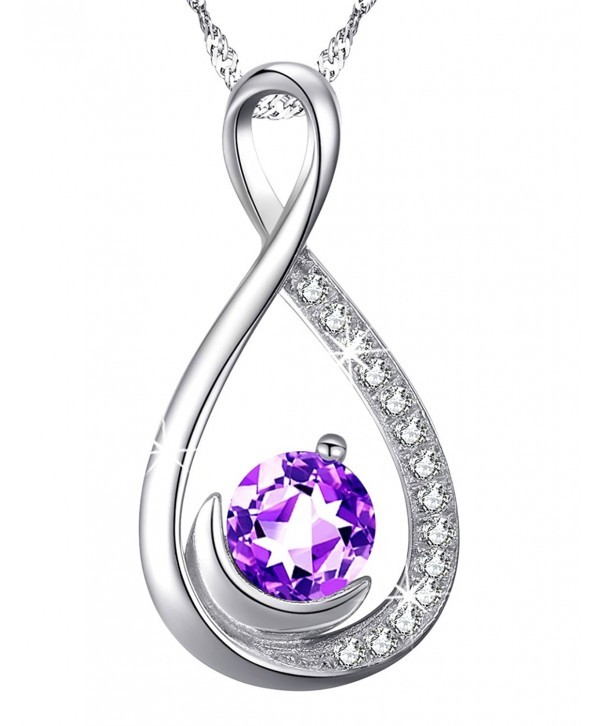 Amethyst Gemstone Birthstone Girlfriend Anniversary