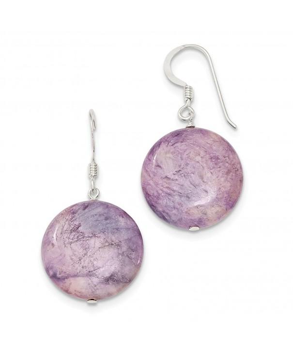 Sterling Silver Shepherd Lepidolite Earrings
