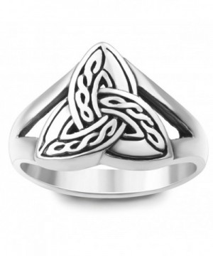 Sterling Silver Triquetra Trinity Jewelry