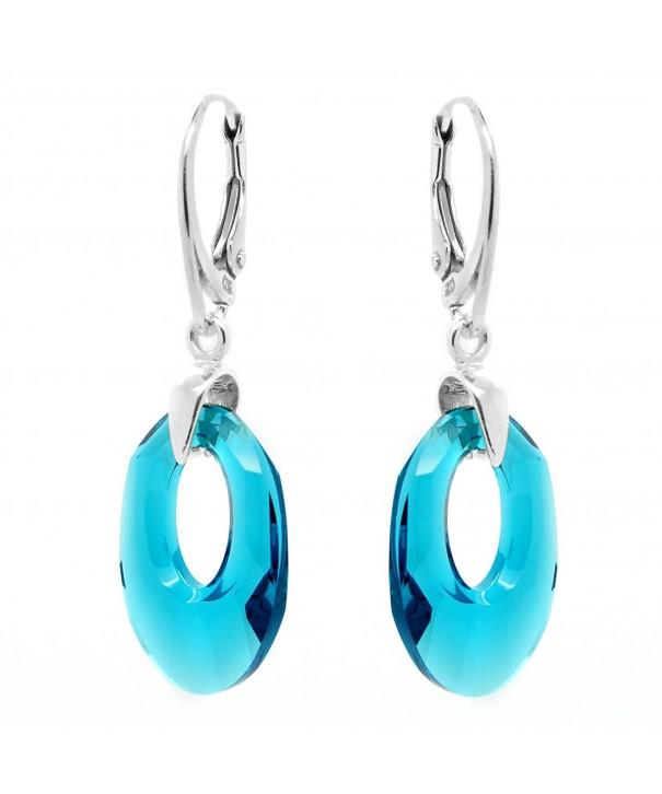 Sterling Silver Swarovski Crystals Earrings