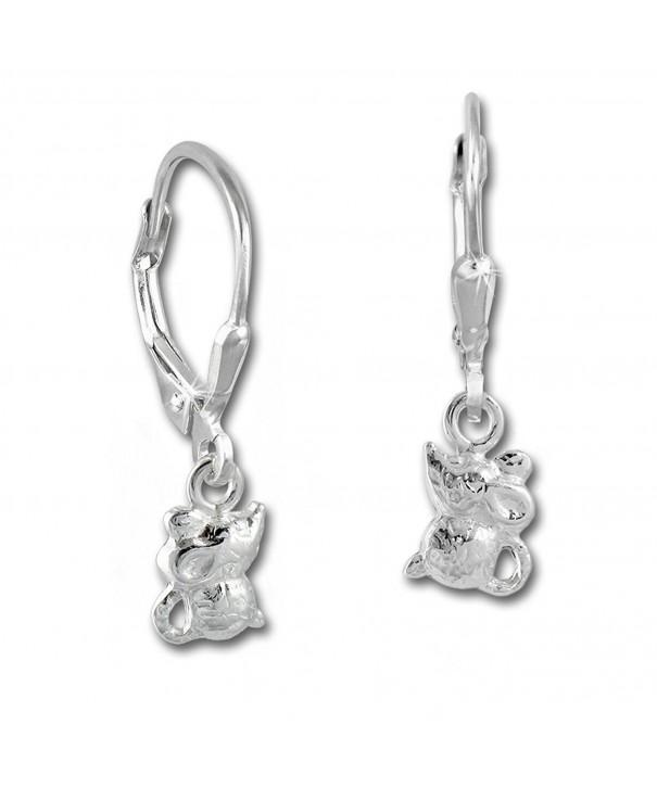 Sterling Silver earring Teenie Weenie SDO585J