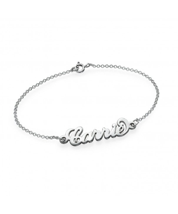 Personalized Carrie Name Bracelet Anklet