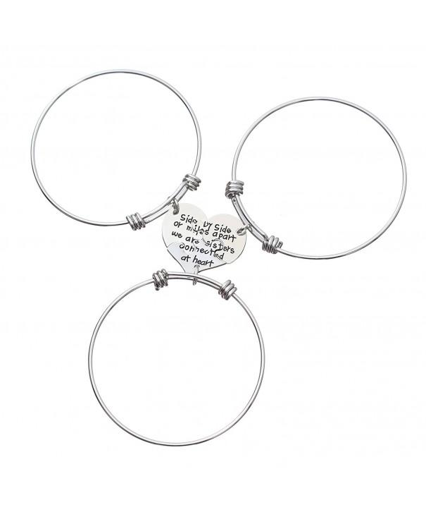 3pcs Sister Expandable Bangle Bracelets