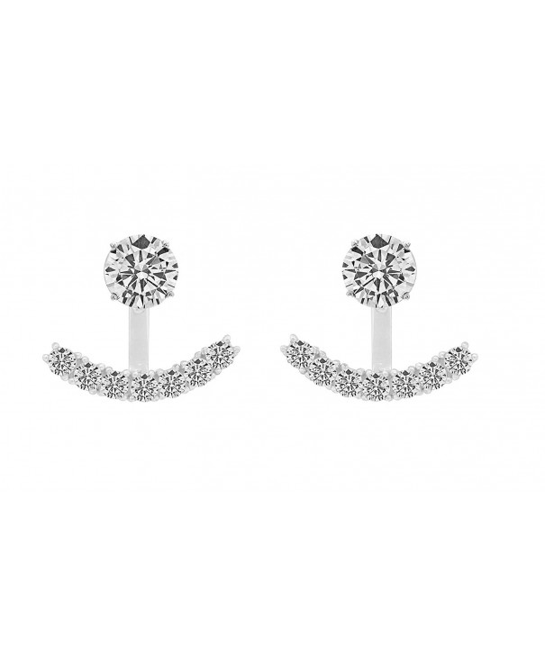 Sterling Silver Zirconia Quality Earrings