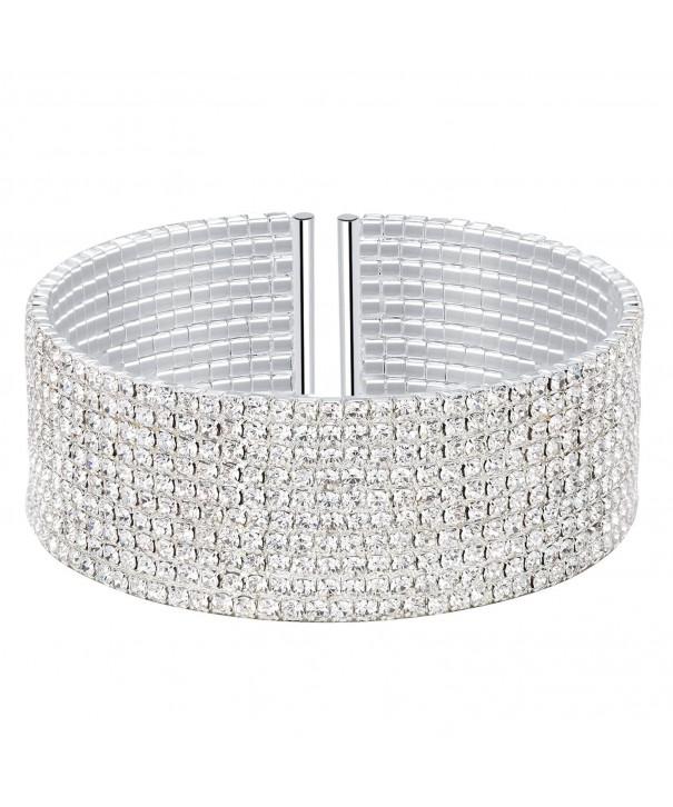 BABEYOND Elastic Stretch Bracelet Row Silver