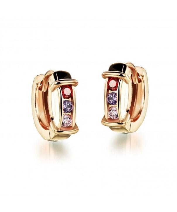 Feraco Jewelry Fashion Earring Zirconia