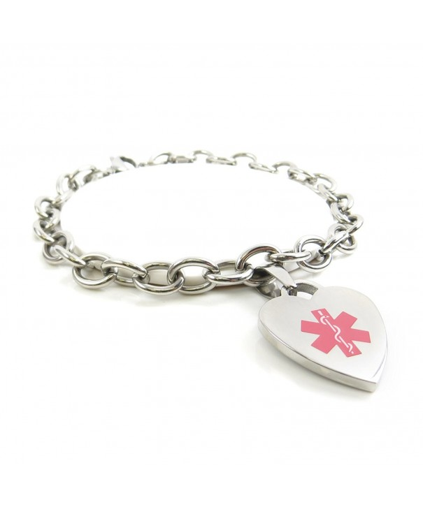 MyIDDr Pre Engraved Customized Bracelet Link