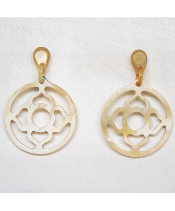 Mary Crafts Handmade Buffalo Earrings