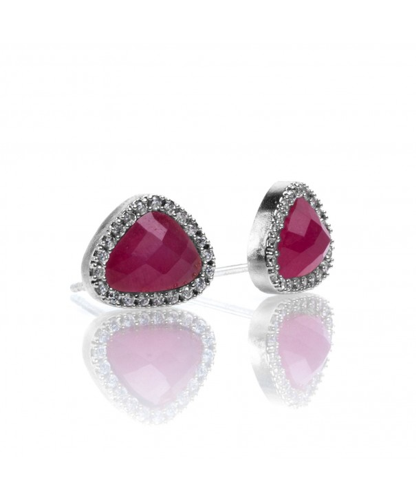 PAVOI Precious Gemstone Earrings Simulated