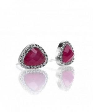 PAVOI Precious Gemstone Earrings Simulated