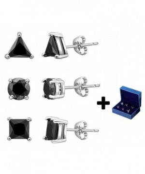 Silver Earrings Black Women Geometric