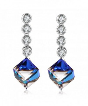 PLATO Earrings Swarovski Crystals Fashion