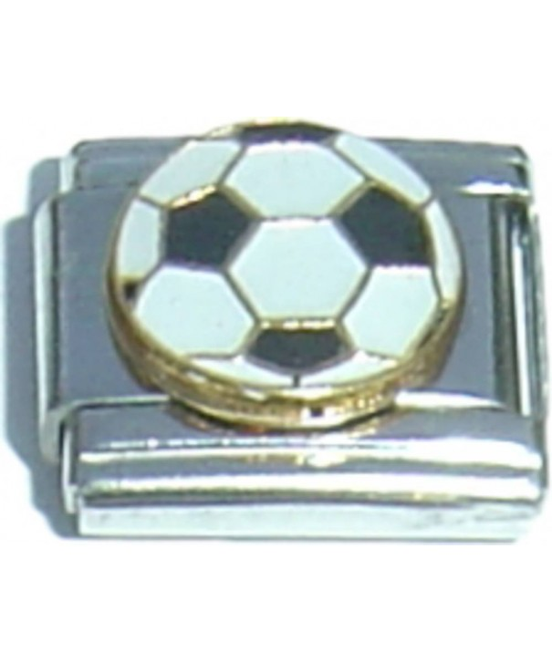 NewCharms CT1357 Soccer Italian Charm