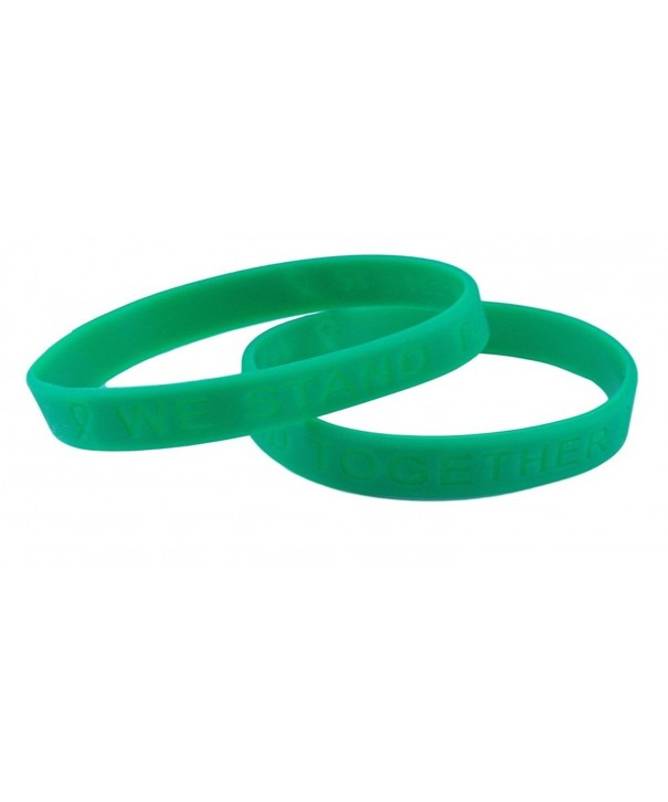 Green Awareness Silicone Bracelet Bracelets