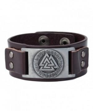 Jewelry Slavic Leather Bracelet Antique