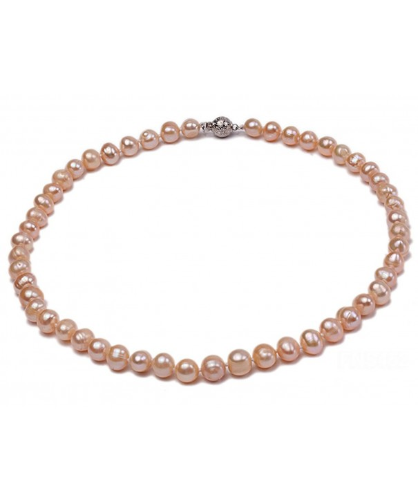 JYX Natural Freshwater Pearl Necklace