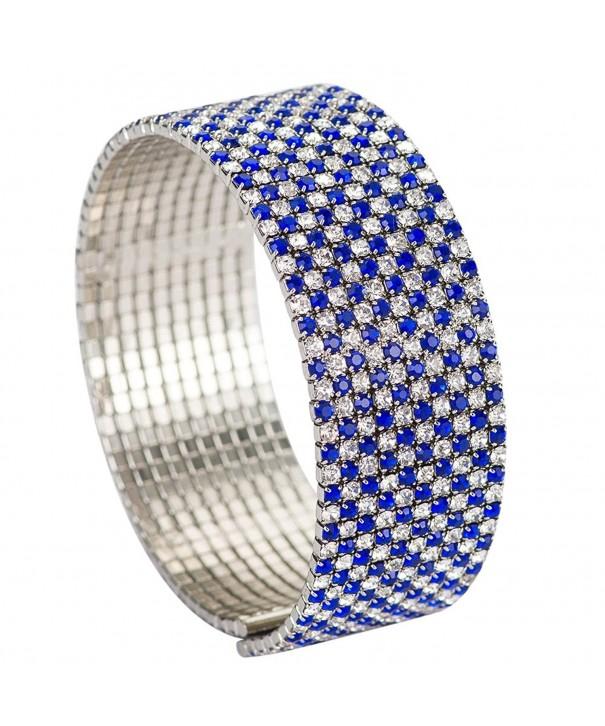 Royal Rhinestone Bracelets catenary Women