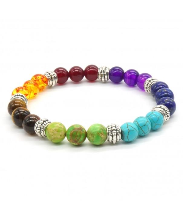 Rainbow Bracelet Crystal Balancing Gemstone