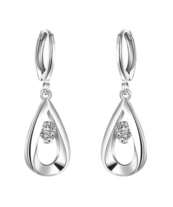 WIBERN Silver Plated Earring Jewelry