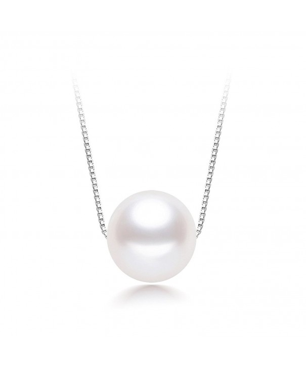 Wiw Necklace Sterling Freshwater Cultured