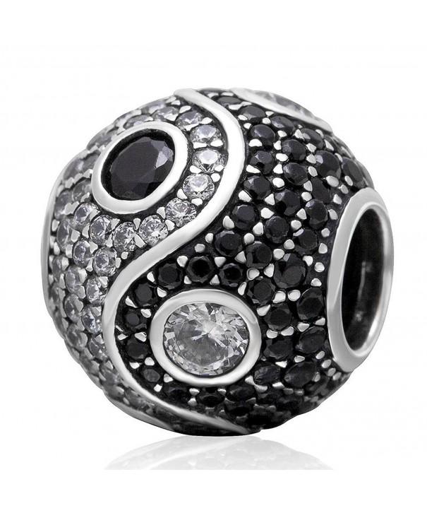 Choruslove Cubic Zirconia Charm Bracelet