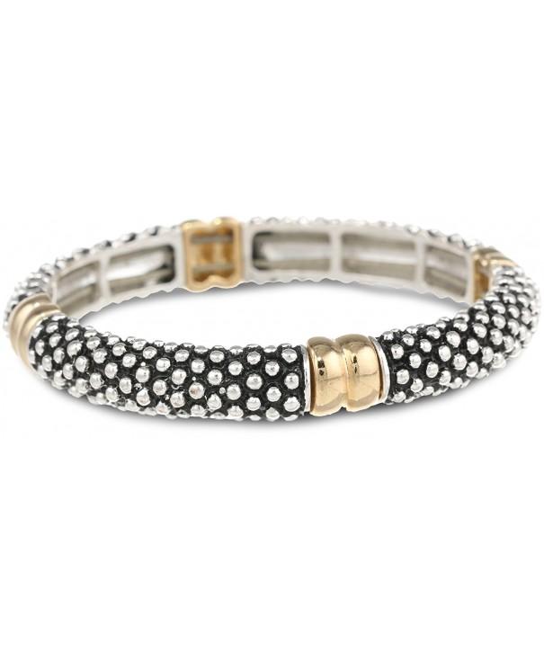 Napier Classics Two Tone Braided Bracelet