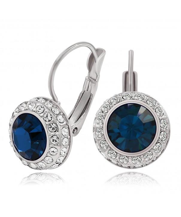 Kemstone Luxury Zirconia Earrings Wedding