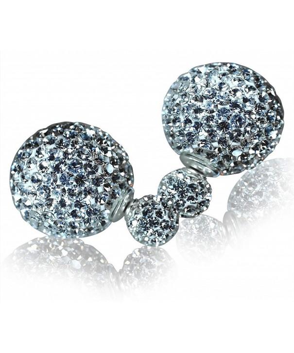 Quan Jewelry Crystal Fashion Earrings