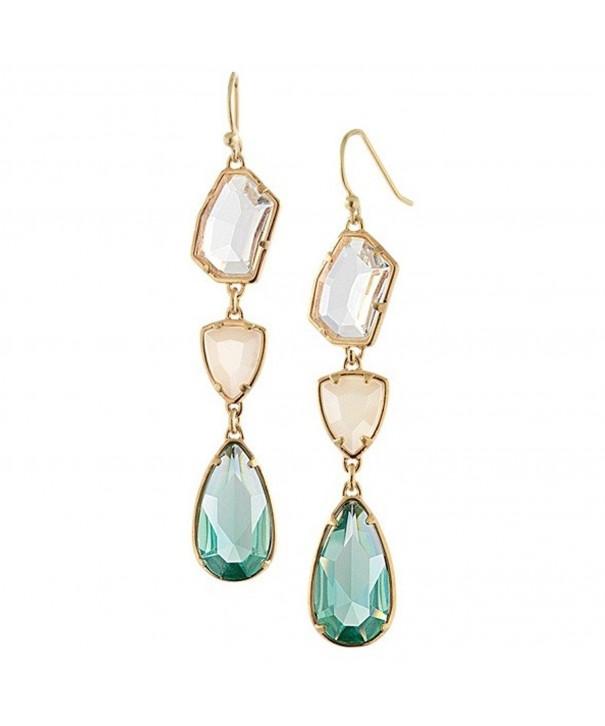 Peony T Teardrop earrings Chandelier Earrings