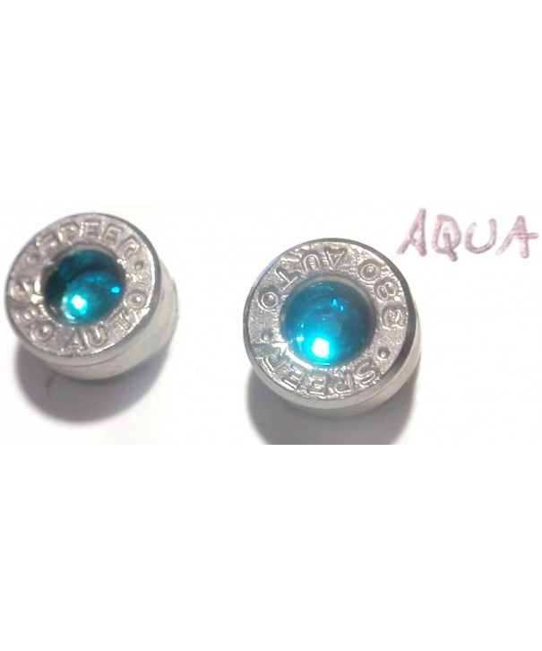 caliber Silver Earrings Stainless crystal