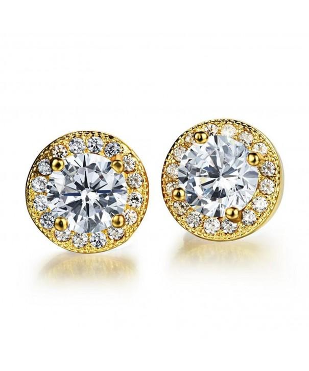 Dog Brother Zirconia Diamond Earrings