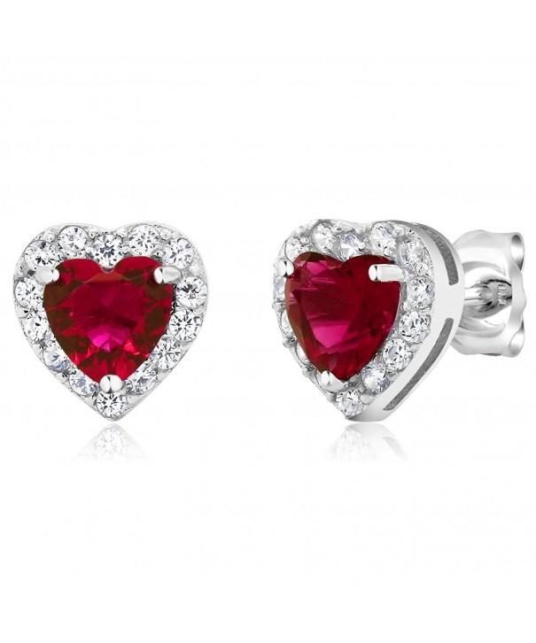 Sterling Silver Womens Earrings Stone