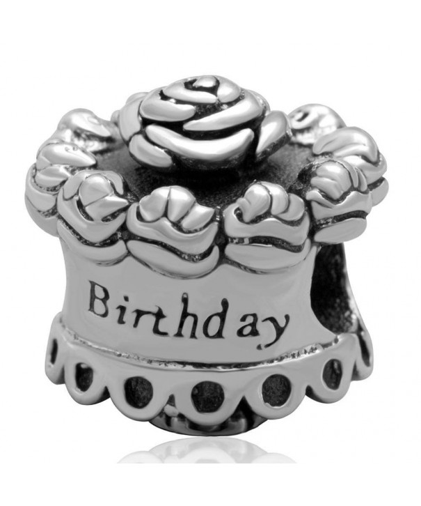 Choruslove Birthday Sterling European Bracelet