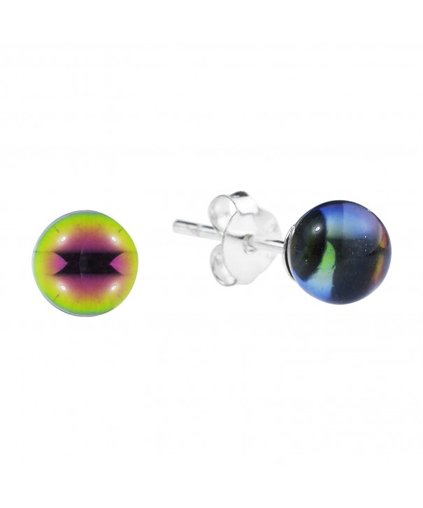 Rainbow Fashion Crystal Sterling Earrings
