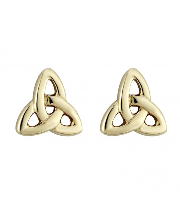 Irish Earrings Studs Plated Ireland