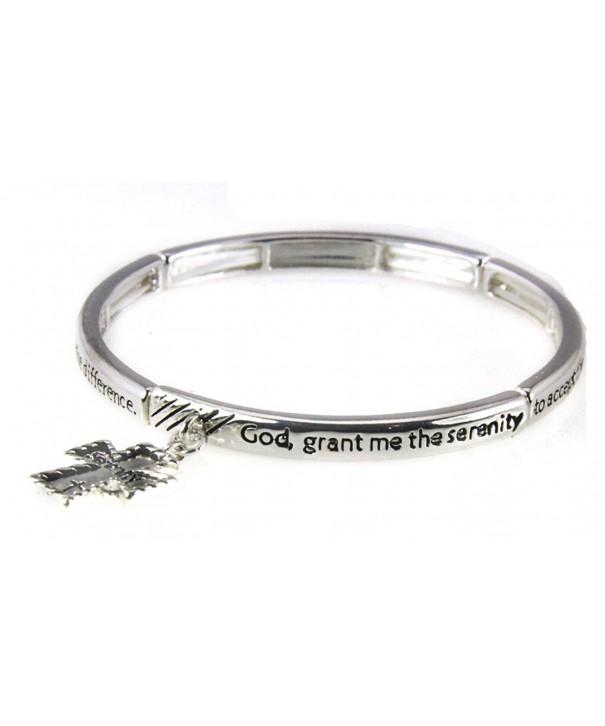 4030685 Serenity Prayer Stretch Bracelet