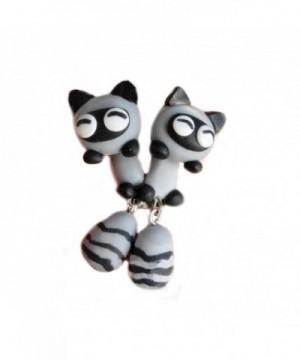 Scheppend Polymer Cartoon Handmade Earrings