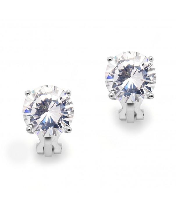 Mariell Carat Cubic Zirconia Earrings