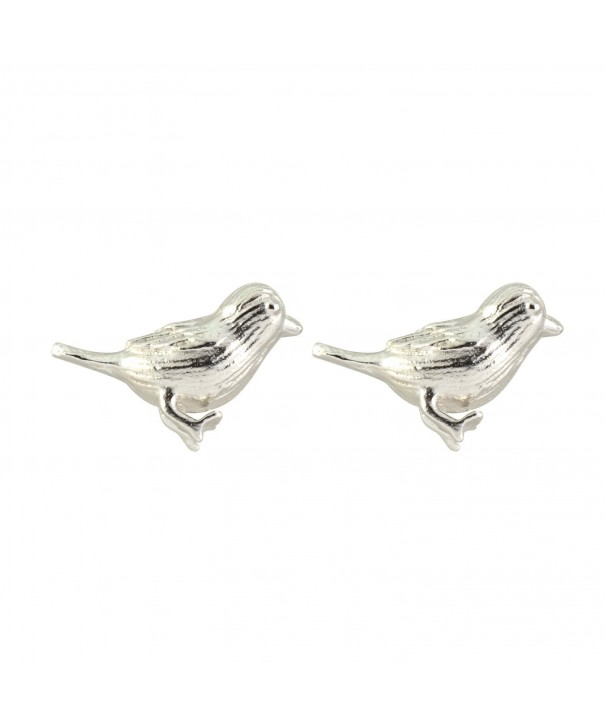 AppleLatte Earrings Lightweight Silver Sparrow
