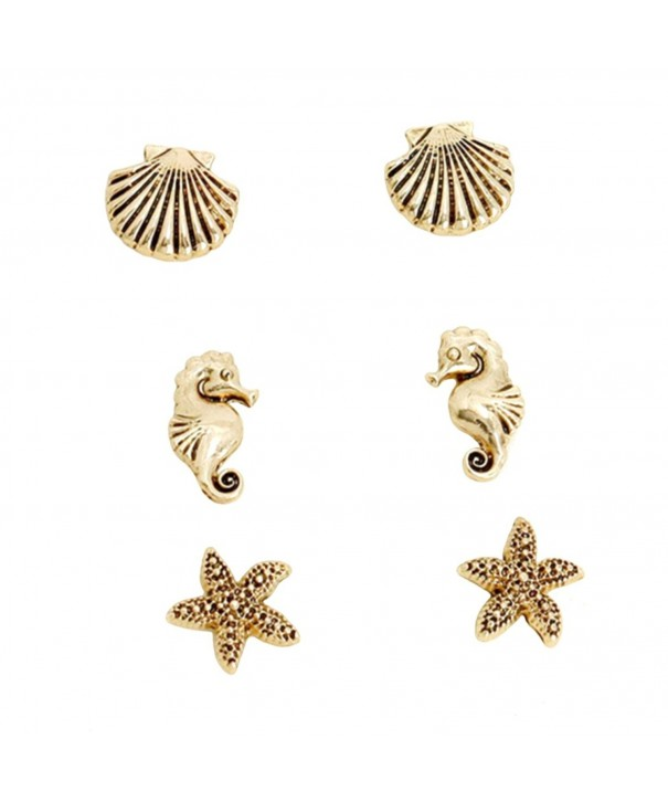 Rosemarie Collections Fashion Earrings Starfish