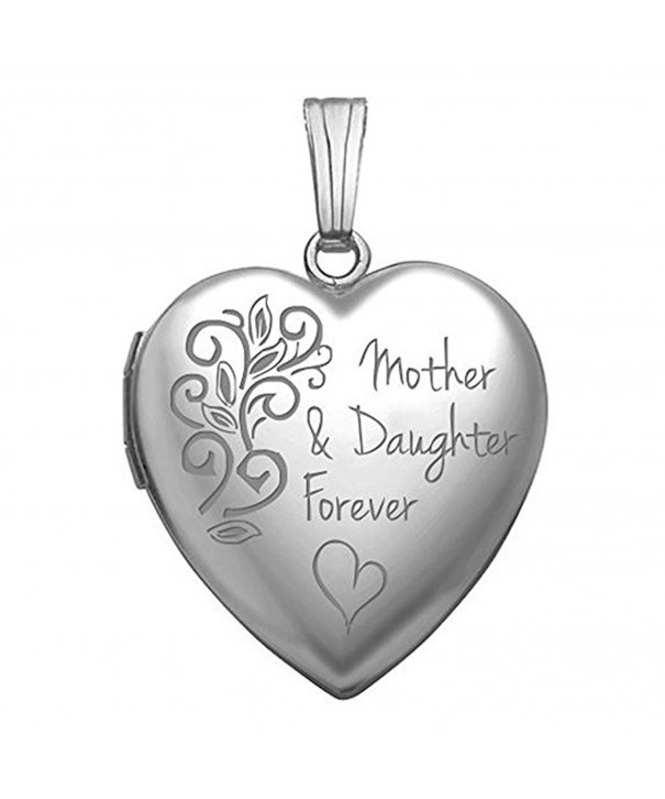 Sterling Silver Mother Daughter Forever