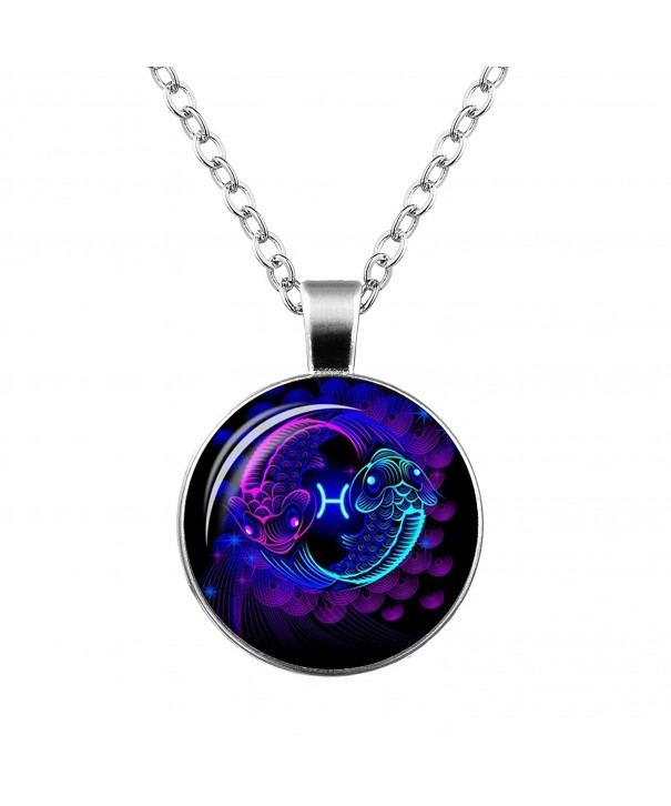 Constellation Gemstone Pendants Ornaments Accessories